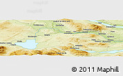 """Physical Panoramic Map of the area around 63°21'9""""N,12°49'29""""E"""