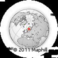 Outline Map of Gräsmyr, rectangular outline