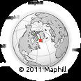Outline Map of Kangerluarsoruseq, rectangular outline