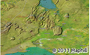 Satellite Map of Selfoss