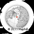 Outline Map of Djúpivogur, rectangular outline