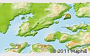 Physical 3D Map of Qoornoq