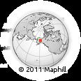 Outline Map of Fairbanks, rectangular outline
