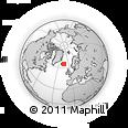 Outline Map of Egilsstaðir, rectangular outline