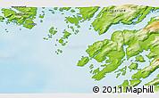 Physical 3D Map of Maniitsoq