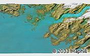 Satellite 3D Map of Maniitsoq