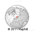 Outline Map of Laver, rectangular outline