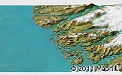 Satellite 3D Map of Kangaamiut