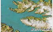 Satellite Map of Hnífsdalur
