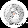 Outline Map of Itivdleq, rectangular outline