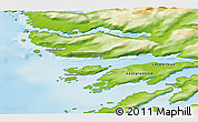 Physical 3D Map of Ikerasaarsuk