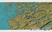 Satellite 3D Map of Attu