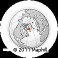 Outline Map of Attu, rectangular outline