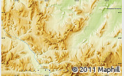 """Physical Map of the area around 68°8'7""""N,136°46'30""""W"""