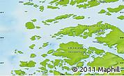 Physical Map of Iginniarfik
