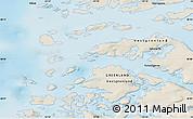 Shaded Relief Map of Iginniarfik