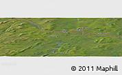 Satellite Panoramic Map of Luspa