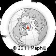 Outline Map of Ikamiut, rectangular outline