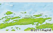 Physical 3D Map of Akunnaaq