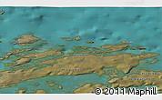 Satellite 3D Map of Akunnaaq