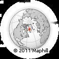 Outline Map of Oqaatsut, rectangular outline