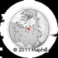 Outline Map of Noril'skiy Nikel', rectangular outline