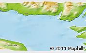 Physical 3D Map of Saqqaq