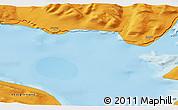 Political 3D Map of Saqqaq