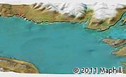 Satellite 3D Map of Saqqaq
