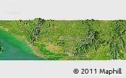 Satellite Panoramic Map of Satun
