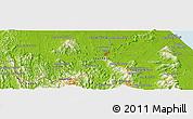 Physical Panoramic Map of Yala