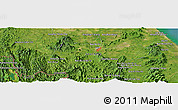 Satellite Panoramic Map of Yala
