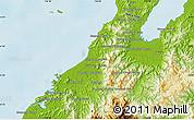 Physical Map of Kota Belud