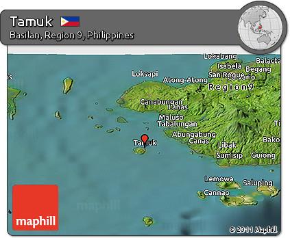 free satellite panoramic map of tamuk
