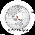 Outline Map of Isulan, rectangular outline