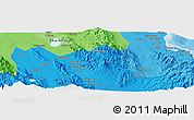 Political Panoramic Map of Koronadal