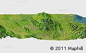 Satellite Panoramic Map of Koronadal