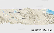 Shaded Relief Panoramic Map of Koronadal