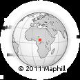 Outline Map of Boro, rectangular outline