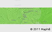 Political Panoramic Map of Babigoua