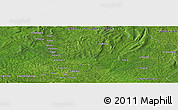 "Satellite Panoramic Map of the area around 6° 28' 13"" N, 21° 19' 30"" E"