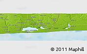 Physical Panoramic Map of Bokoutou