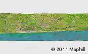 Satellite Panoramic Map of Bokoutou