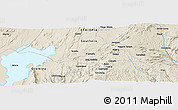 Shaded Relief Panoramic Map of Gwangwa