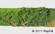 Satellite Panoramic Map of Bado