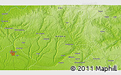 """Physical 3D Map of the area around 6°28'13""""N,6°1'30""""E"""