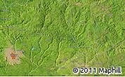 "Satellite Map of the area around 6°28'13""N,6°1'30""E"