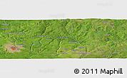 "Satellite Panoramic Map of the area around 6°28'13""N,6°1'30""E"