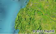 Satellite Map of Cotabato