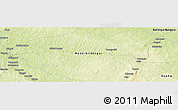 Physical Panoramic Map of Ngoussa